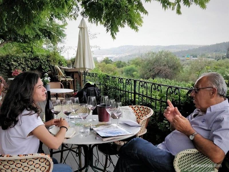 planear uma viagem vínica em Israel