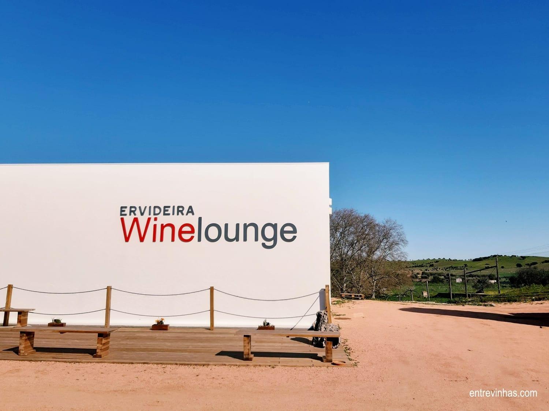 wine lounge ervideira