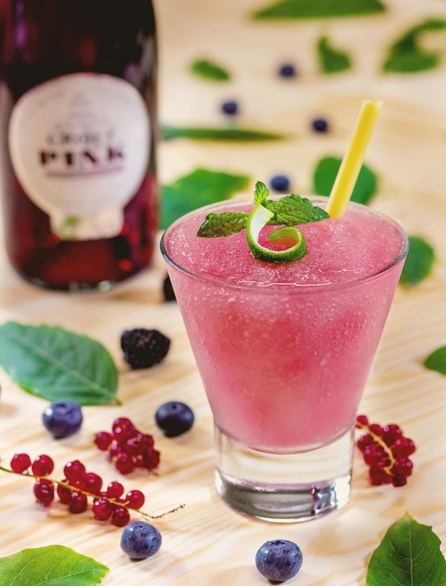 Taylor's Port Pink cocktail