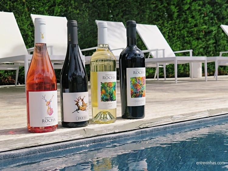 Herdade da Rocha vinhos enoturismo