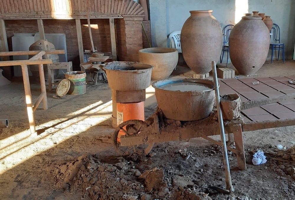 telheiro artesanal vinho da talha