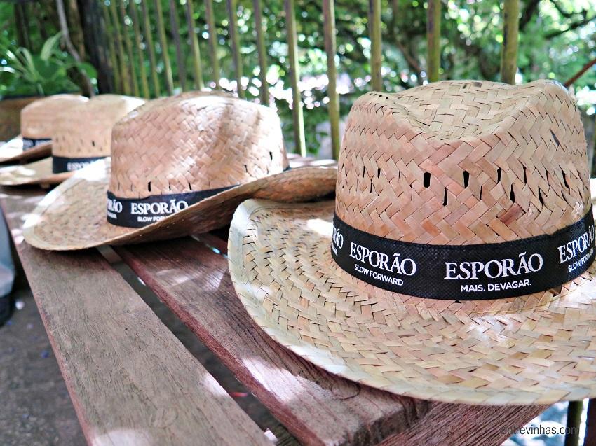 chapéu palha esporão